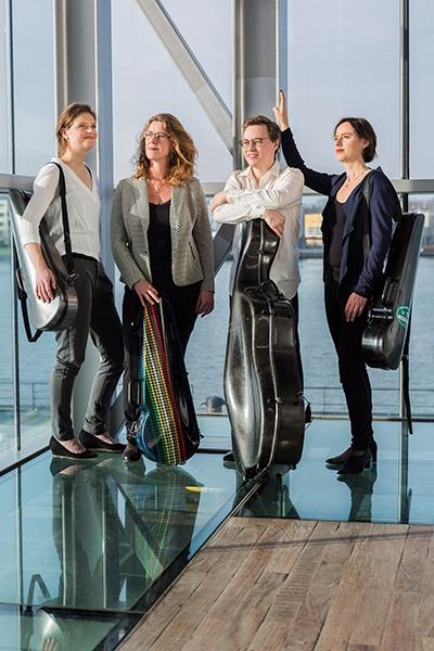 Hermitage kwartet met Jacobien Rozemond