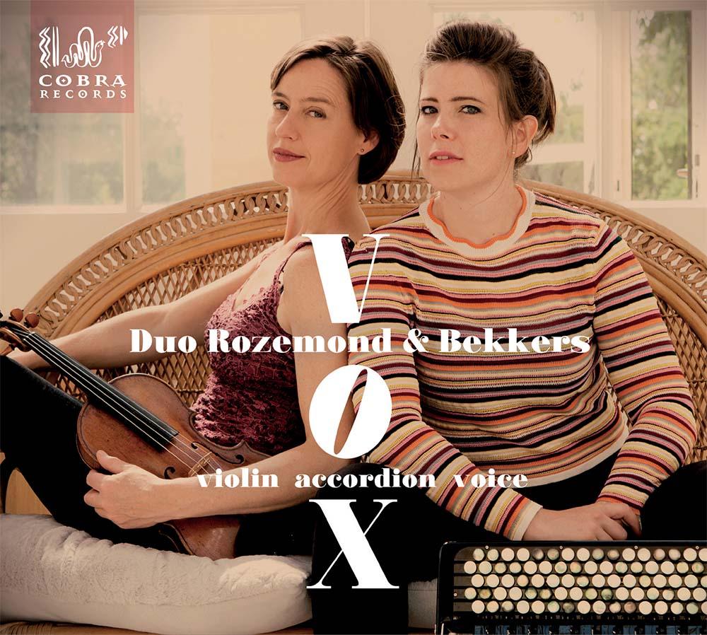 CD VOX van Duo Rozemond & Bekkers